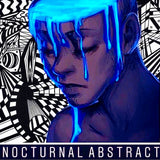 NOCTURNAL ABSTRACT SKATEBOARD