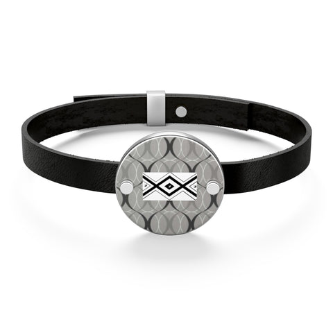 222 GOOD VIBE Leather Bracelet