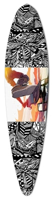 NOCTURNAL ABSTRACT LONGBOARD