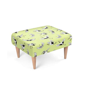 Footstool - Oriental birds (lemmon)