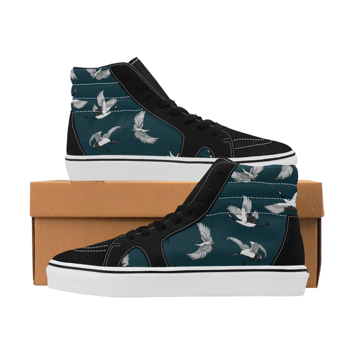 High top canvas men's shoes