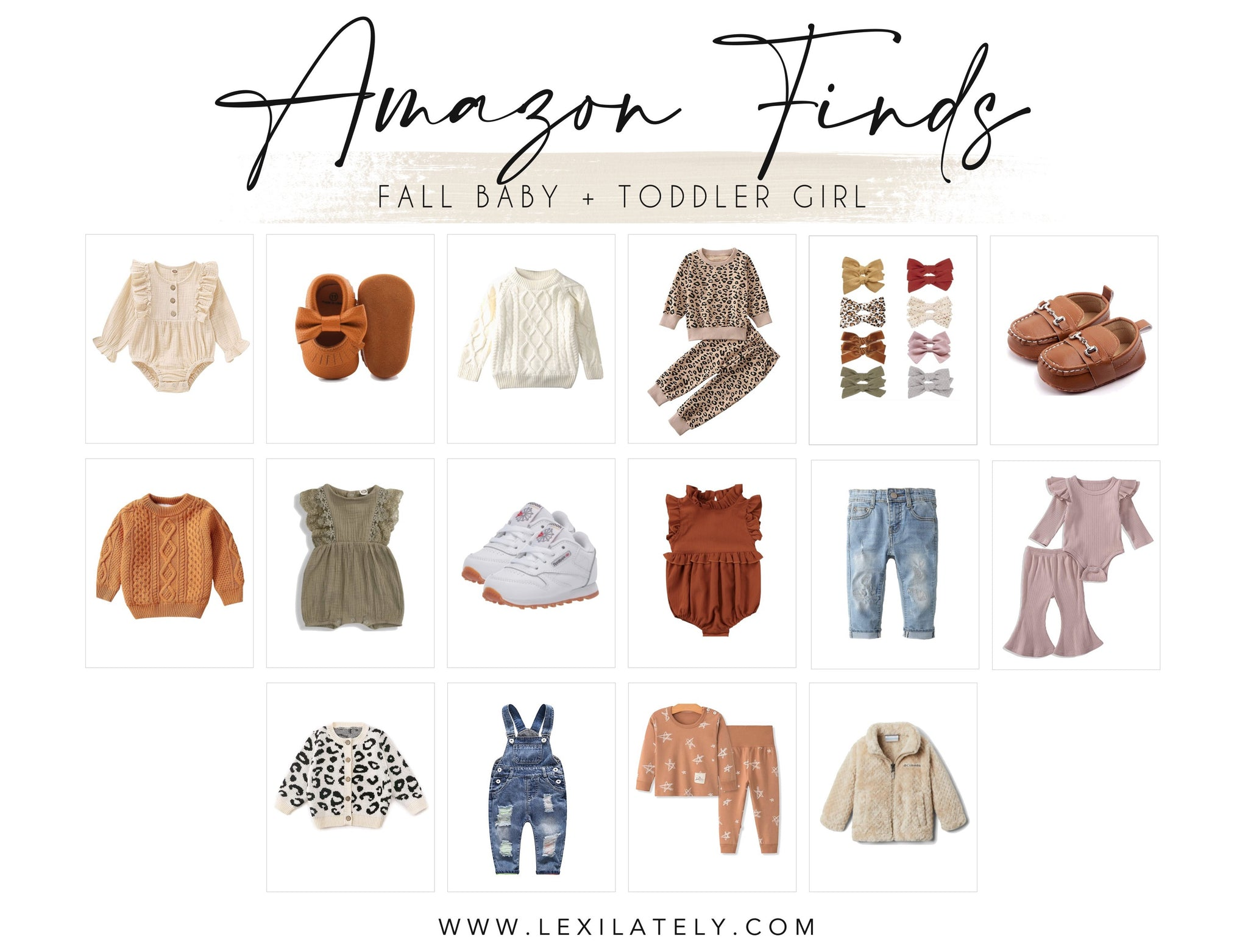 Amazon Finds: Fall Baby + Toddler Girls