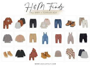 H&M Finds: Fall Baby and Toddler Boys