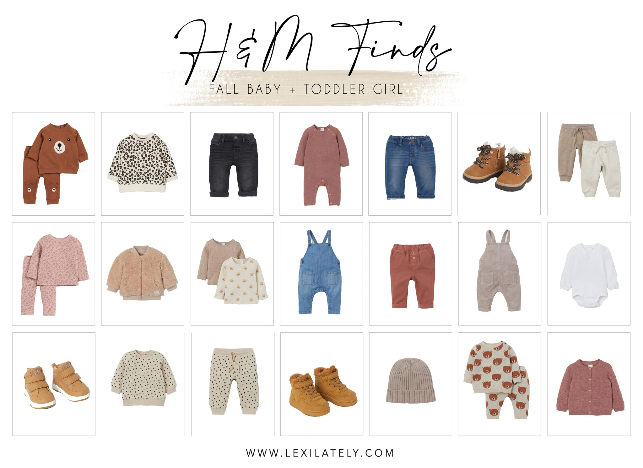 H&M Finds: Fall Baby and Toddler Girl