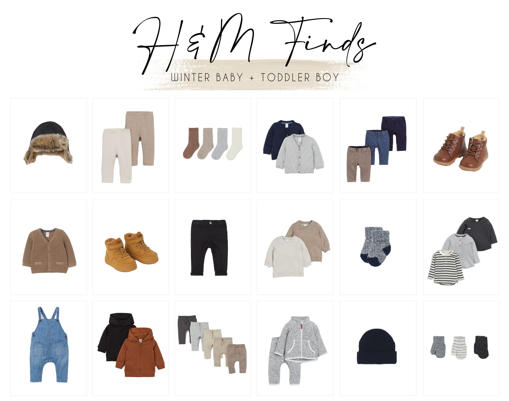 H&M Finds: Winter Baby and Toddler Boy