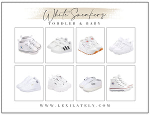 Best White Sneakers: Toddler & Babies
