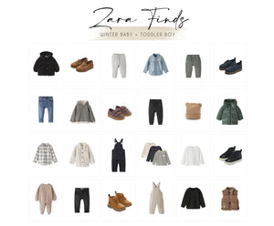 Zara Finds: Winter Baby and Toddler Boy