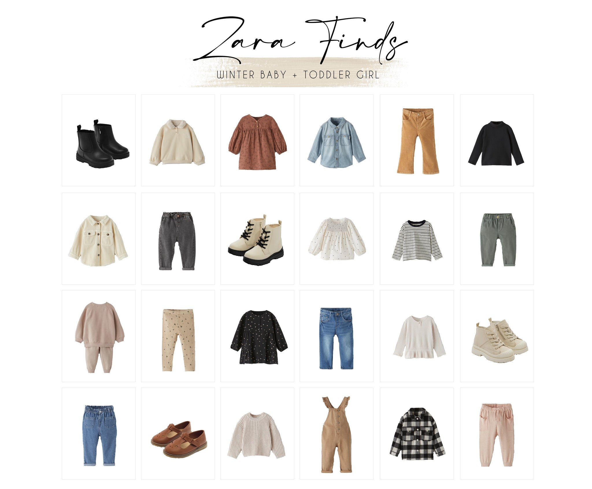 Zara Finds: Winter Baby and Toddler Girl