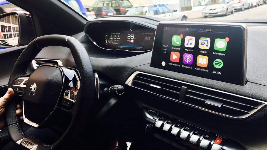 Comment installer CarPlay sur Peugeot 3008 ?