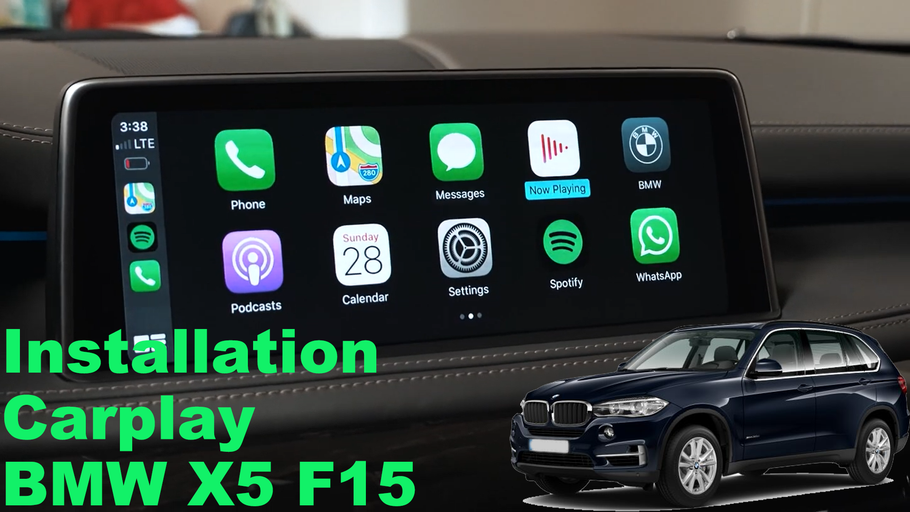 Tutoriel installation Carplay sur BMW X5 F15
