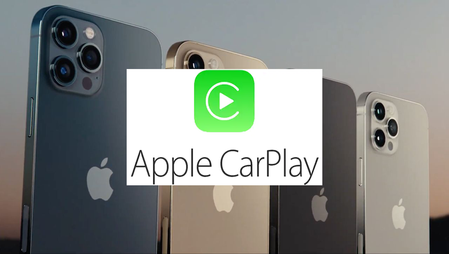 Apple CarPlay sur un iPhone 12