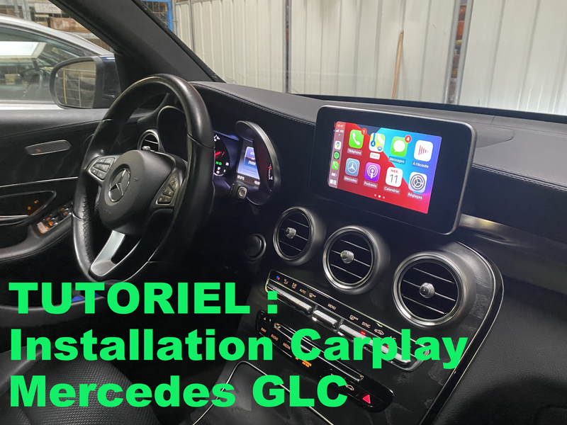 Tutoriel installation Carplay sur Mercedes GLC