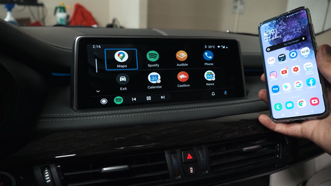android auto bmw x5 f15