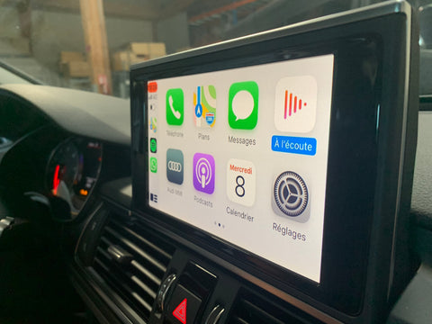 Carplay audi a6 a7