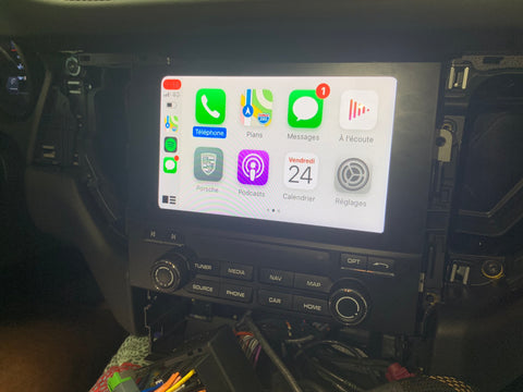 carplay porsche