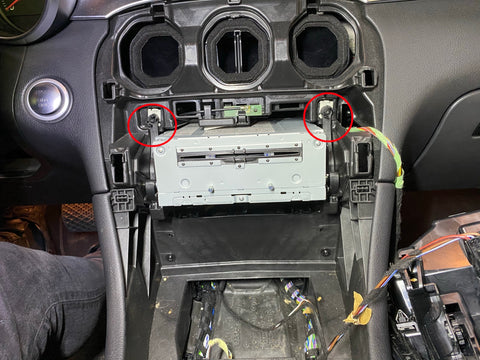 démonter autoradio mercedes glc