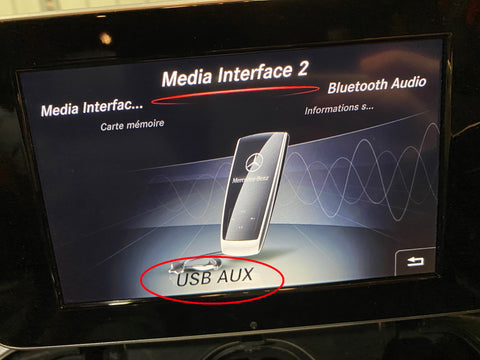 interface media 2 mercedes
