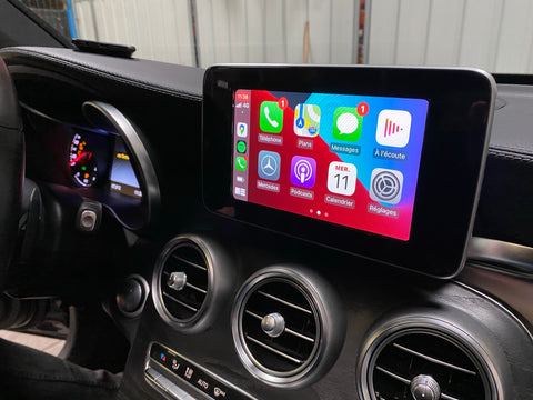 carplay mercedes GLC