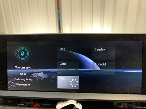 carplay android auto bmw f30 f31