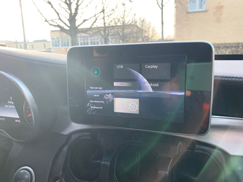 carplay mercedes c63