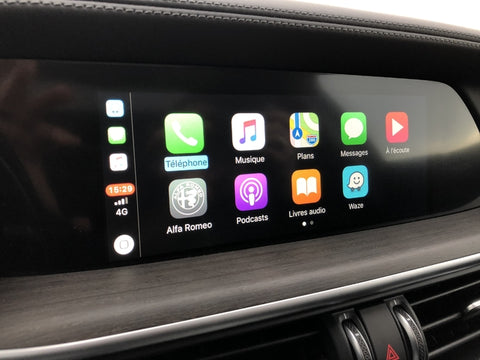 carplay alfa romeo stelvio