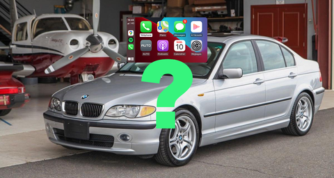 carplay bmw e46