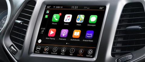 carplay jeep cherokee
