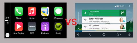 apple carplay vs android auto