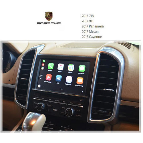 apple carplay porsche