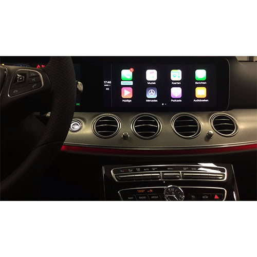 Activation Apple Carplay sur Mercedes classe C, E et CLS à partir de 2018
