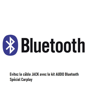Kit Bluetooth en remplaçement du câble Jack
