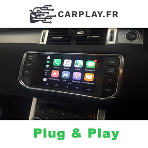 Apple Carplay pour Land Rover et Range Rover de 2017 à 2019