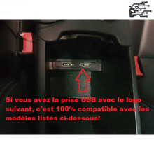 Charger l'image dans la galerie, usb mercedes carplay