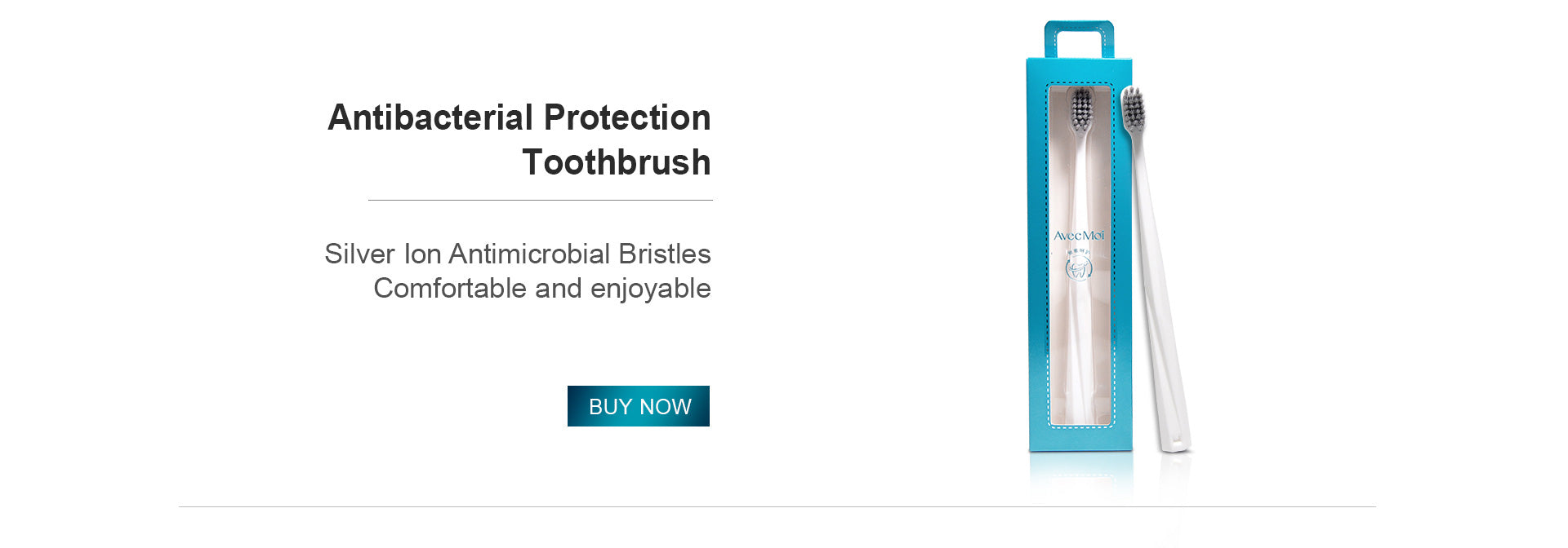 Avec Moi Antibacterial Protection Toothbrush