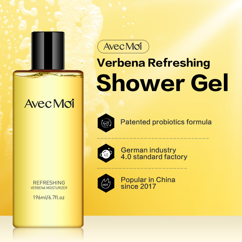 Avec Moi Verbena Refreshing Shower Gel