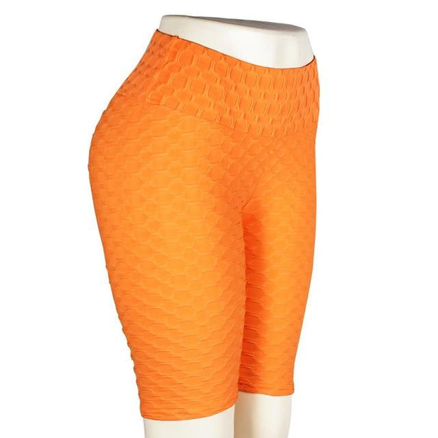 Push Up Legging - Anti Cellulite Geniale Gadgets Orange - Kurz XL