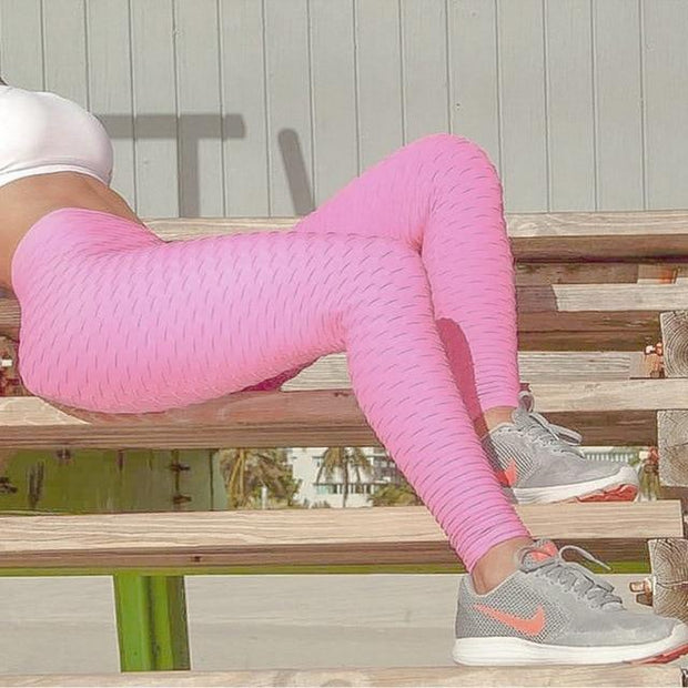 Push Up Legging - Anti Cellulite Geniale Gadgets Pink L