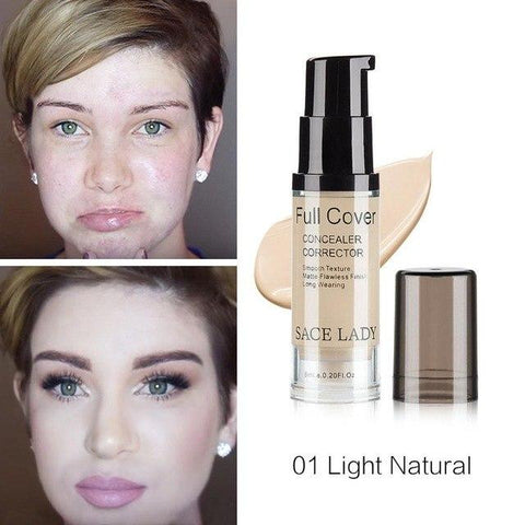 Sace-Lady™ - Full Cover Make Up Geniale Gadgets 01 - Light Natural
