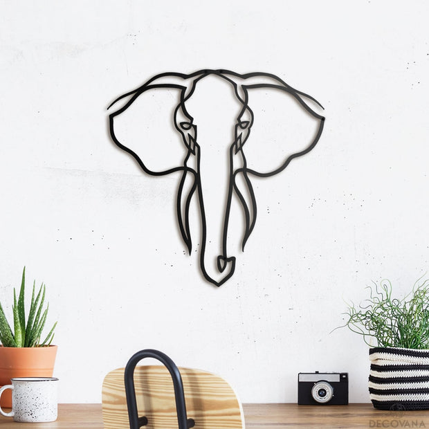 Elephant - Metal Deco