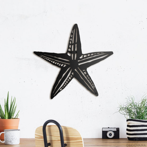 Starfish - Metal Deco