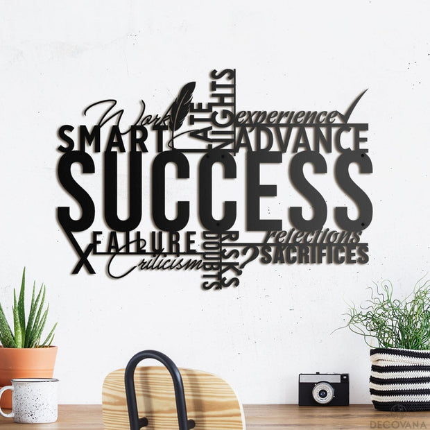 Success - Metal Deco