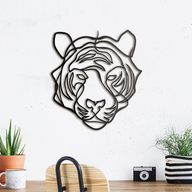 Tiger - Metal Deco