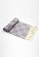 Square-Grey Hand Towel - Haremliq