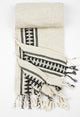 Antique-Black Peshtemal Beach/Bath/Spa Towel - Haremliq