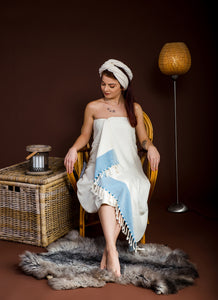 haremliq.com, Bamboo, blue, hurrem, peshtemal, towel, Turkish bath