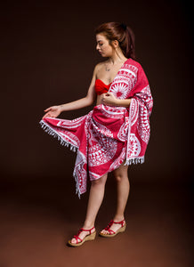 Haremliq.com, mystic, mistik, red, peshtemal, Turkish Bath, towel, cotton
