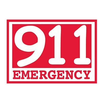 911 Temporary Tattoo