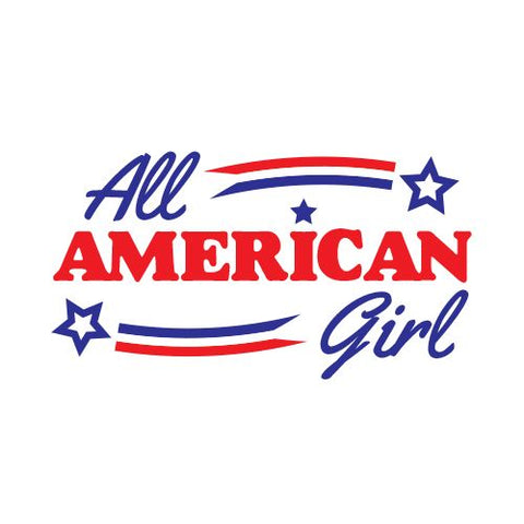 All American Girl Temporary Tattoo