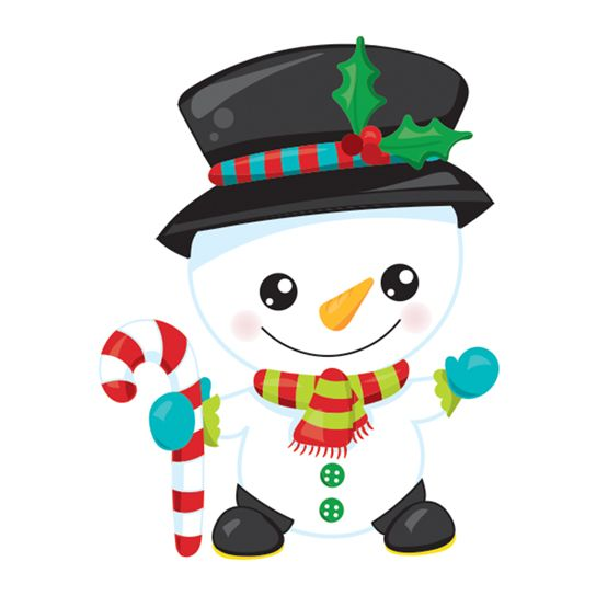 Baby Snowman Temporary Tattoo