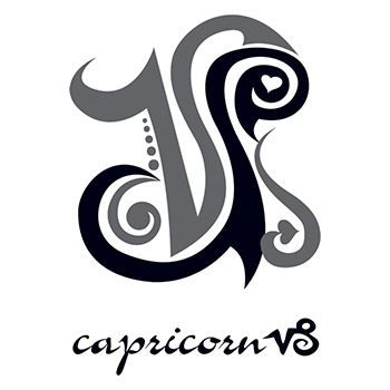 Capricorn Temporary Tattoo